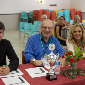 judges smiling